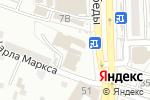 Схема проезда до компании Удача+ в Астрахани
