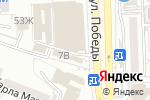 Схема проезда до компании Все для... в Астрахани