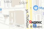 Схема проезда до компании Магазин головных уборов в Астрахани