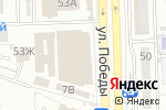 Схема проезда до компании Фламинго в Астрахани