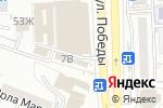 Схема проезда до компании Никита в Астрахани