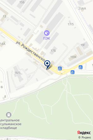 СПЕЦПРИЕМНИК УВД АСТРАХАНСКОЙ ОБЛАСТИ на карте Астрахани
