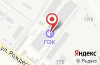 Схема проезда до компании Тонус в Астрахани