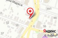 Схема проезда до компании Экстрим-Спорт в Астрахани