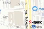 Схема проезда до компании АБС в Астрахани