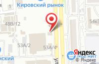 Схема проезда до компании ЛюксПринт в Астрахани