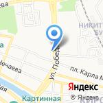 5х5 на карте Астрахани