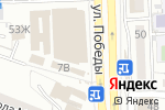Схема проезда до компании Амазон в Астрахани