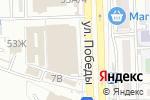Схема проезда до компании Магазин кошельков и ремней в Астрахани
