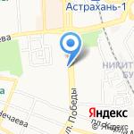 У Эйваза на карте Астрахани
