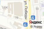 Схема проезда до компании Славянка в Астрахани