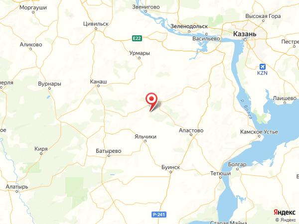 деревня Плетени на карте