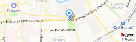Мега Пир на карте Астрахани