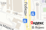Схема проезда до компании Роспечать в Астрахани
