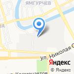 Сияма на карте Астрахани