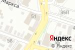 Схема проезда до компании Электроник Сити в Астрахани