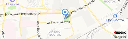 Клёвое Место на карте Астрахани