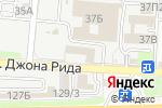 Схема проезда до компании ИМПАКТ в Астрахани