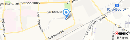 Детский сад №40 на карте Астрахани