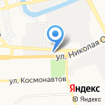 Елена на карте Астрахани