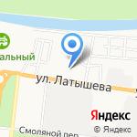Лоза на карте Астрахани