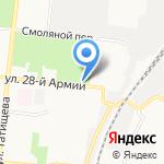 Лукошко на карте Астрахани