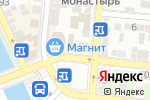 Схема проезда до компании Продовольственный магазин в Астрахани