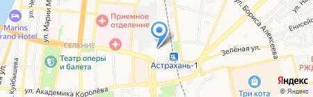 Фаворит-КВ на карте Астрахани