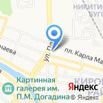 Техномаркет на карте Астрахани