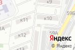Схема проезда до компании Полянка в Астрахани