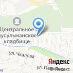 Баня на дровах на карте Астрахани