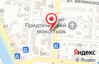 Схема проезда до компании ТРУБОПЛАСТ в Астрахани