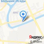 АЛЬЯНССТРОЙСНАБ на карте Астрахани