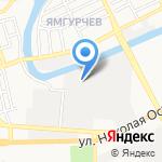 Берег на карте Астрахани