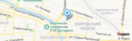 Центр сантехники на карте Астрахани