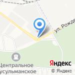 Амега на карте Астрахани