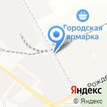 Вестин на карте Астрахани