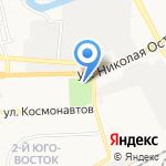 Планета на карте Астрахани