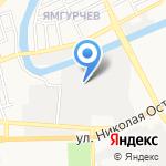 ДЕКОР ПЛЮС на карте Астрахани