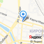 Астраханский государственный цирк на карте Астрахани