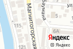 Схема проезда до компании Абрис в Астрахани