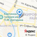 БоголепЪ на карте Астрахани