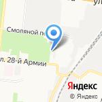 Типография на карте Астрахани