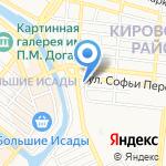 Школьный мир на карте Астрахани
