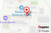 Схема проезда до компании Акцент Сервис в Астрахани