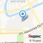 Акцент Сервис на карте Астрахани