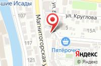 Схема проезда до компании Новое техно в Астрахани