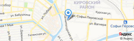 Уют-Сервис на карте Астрахани