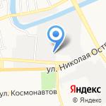 Суперокна на карте Астрахани