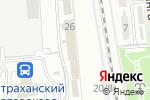Схема проезда до компании Почтовое отделение №12 в Астрахани